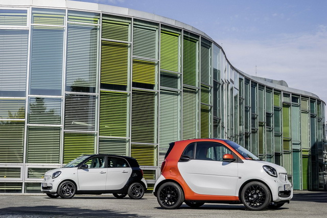 smart fortwo / smart forfour 2014