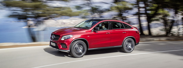 Mercedes-Benz GLE Coupe, rivalul BMW X6