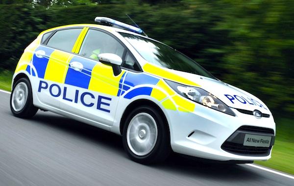 Ford Fiesta Police Car. (11/02/2010)