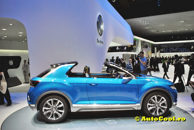 Geneva 2014: Volkswagen T-Roc e un concept cu adevarat COOL!