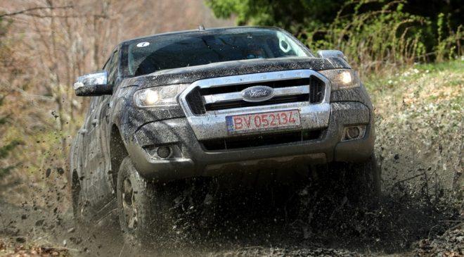 Ford Ranger 2016- test de prim contact